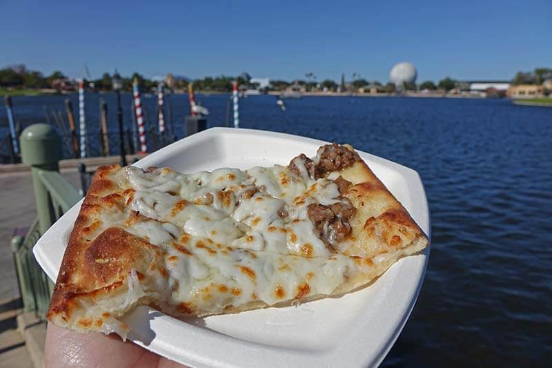 Epcot International Festival of the Holidays 2019 - La Genovese Flatbread