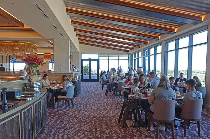 Topolino's Terrace- Flavors of the Riviera - Dining Room Views