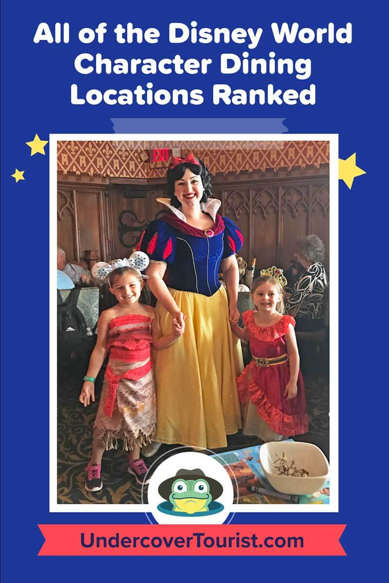 Which Disney World Character Dining Experience Is The Best We Ranked Them All