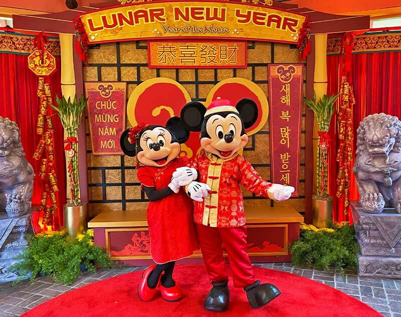 Celebrate Lunar New Year at Disney California Adventure