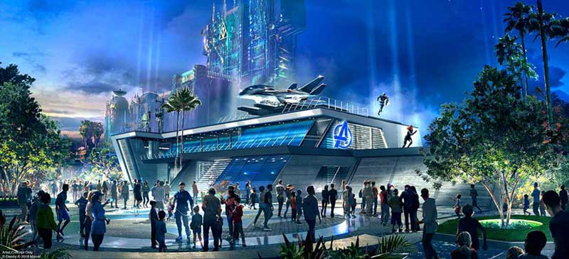 Avengers, Assemble! Avengers Campus at Disney California Adventure Opening Summer 2020