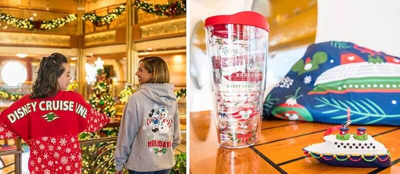 Christmas Merchandise on Disney Cruise Line