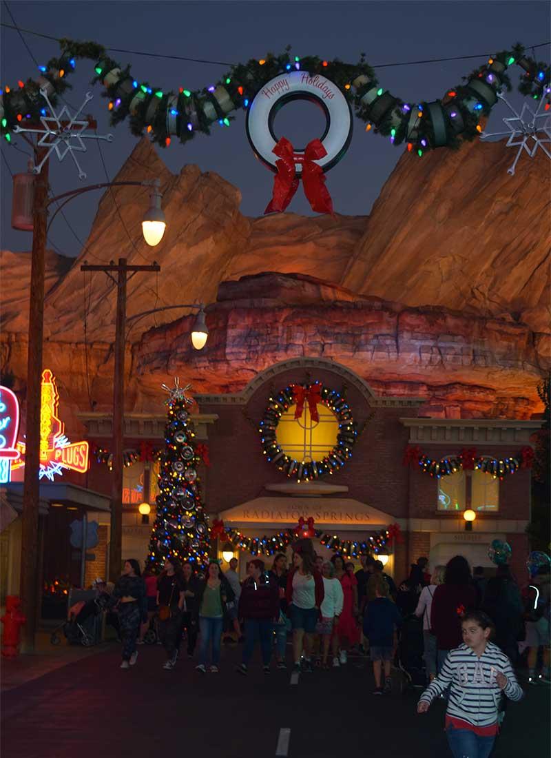 Disney's Festival of Holidays-cars land