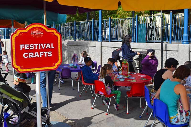 Disney's Festival of Holidays-crafts