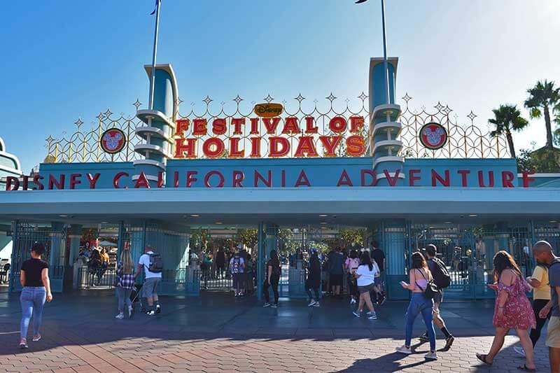 Disney's Festival of Holidays-entrance