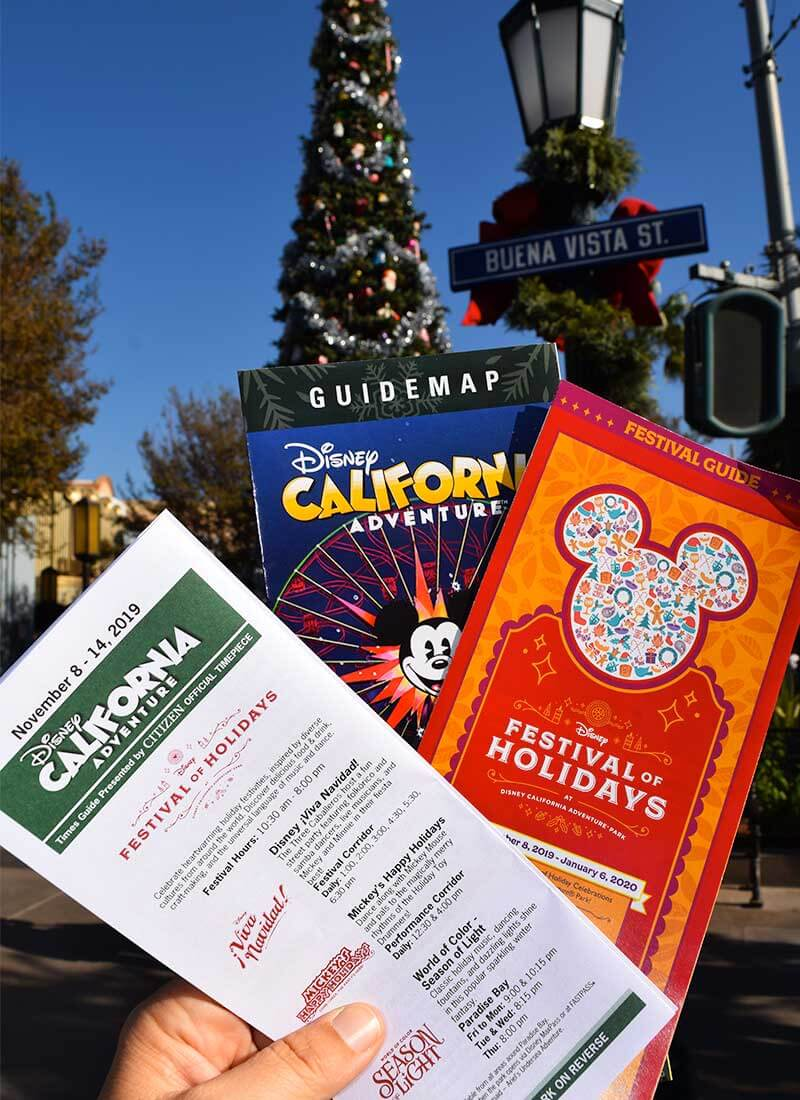 Disney's Festival of Holidays-maps