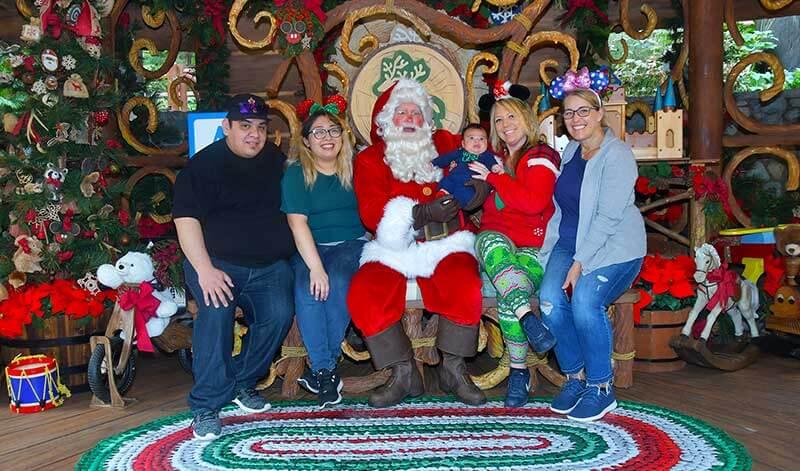 Disney's Festival of Holidays-santa