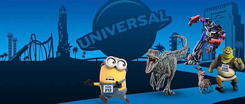 Running Universal Epic Character Race