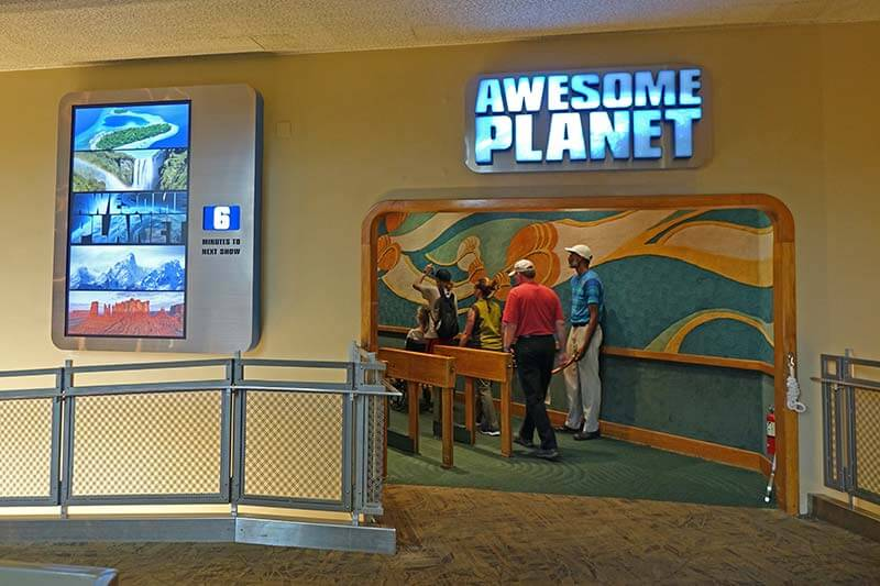 Epcot Changes - Awesome Planet Entrance