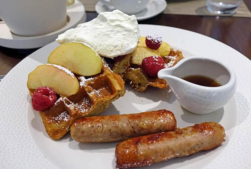 Topolino's Terrace - Flavors of the Riviera - Sour Cream Waffles