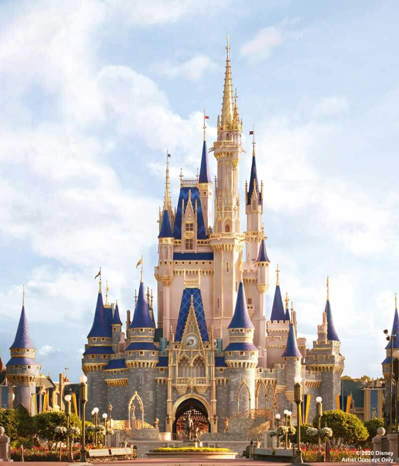 Bibbidi, Bobbidi, Boo-tiful! Cinderella Castle at Magic Kingdom Park Is Getting a Makeover!