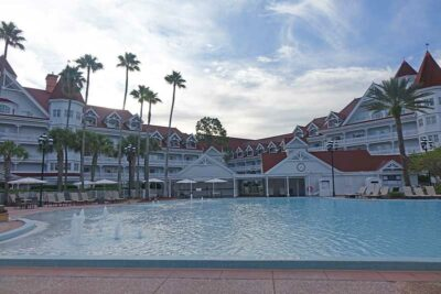 Najlepsze baseny Disney World - Grand Floridian's Courtyard Pool's Courtyard Pool