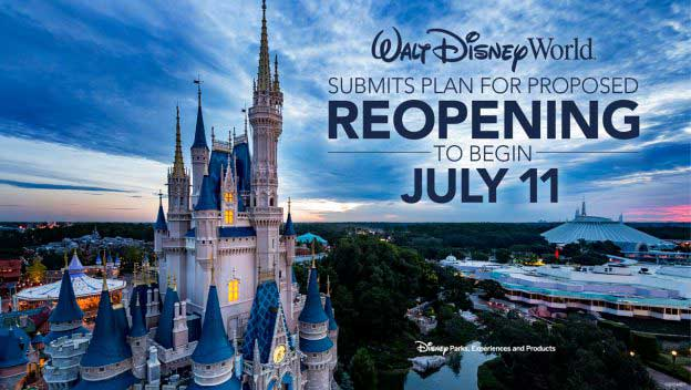 Disney World to Reopen Parks July 11 - Here's What You Need to Know!