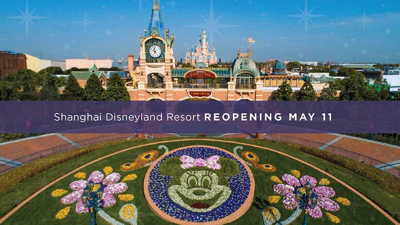 Shanghai Disneyland and Disney Springs Reopening! And More of This Week's Theme Park News