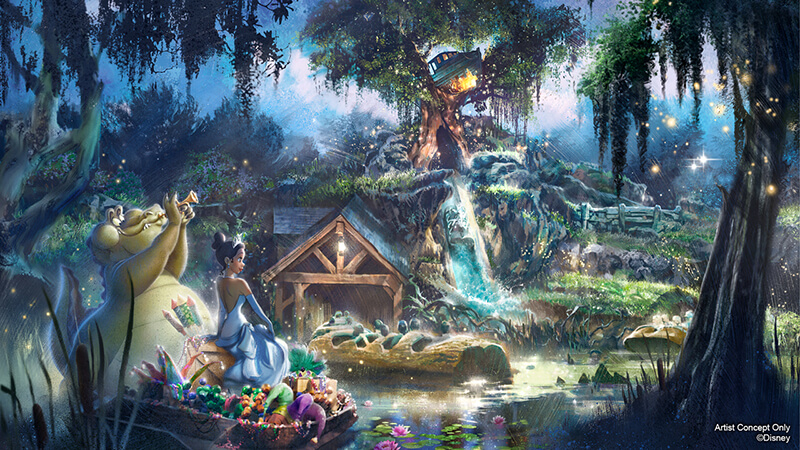 Splash Mountain to Be Reimagined! 'Princess and the Frog' Theme Coming Soon to Disneyland and Disney World