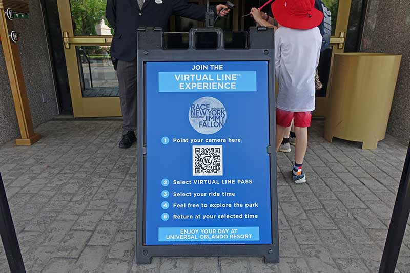 How to Use Universal Orlando's Virtual Line Experience System