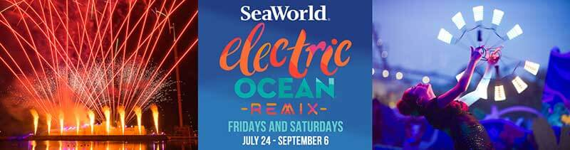 Electric Ocean Remix Makes Its Glowing Debut This Week at SeaWorld Orlando
