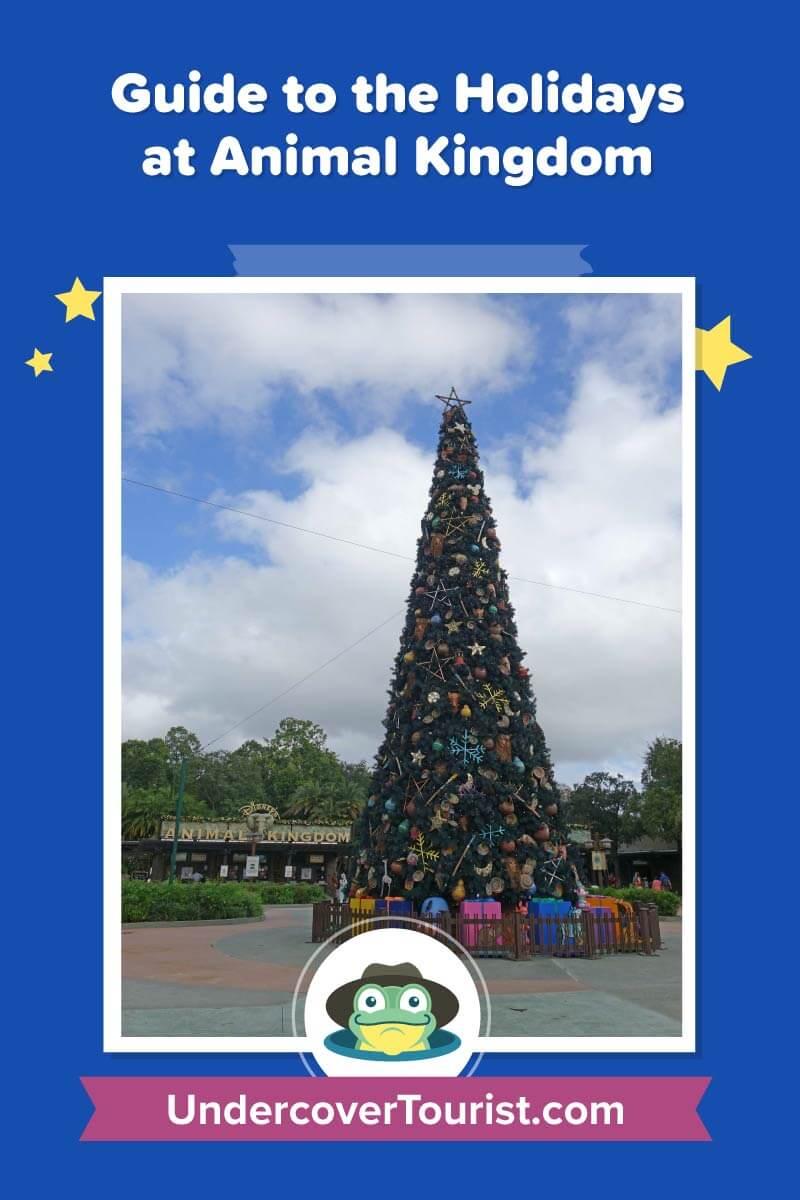 Celebrating Christmas Time At Disney S Animal Kingdom