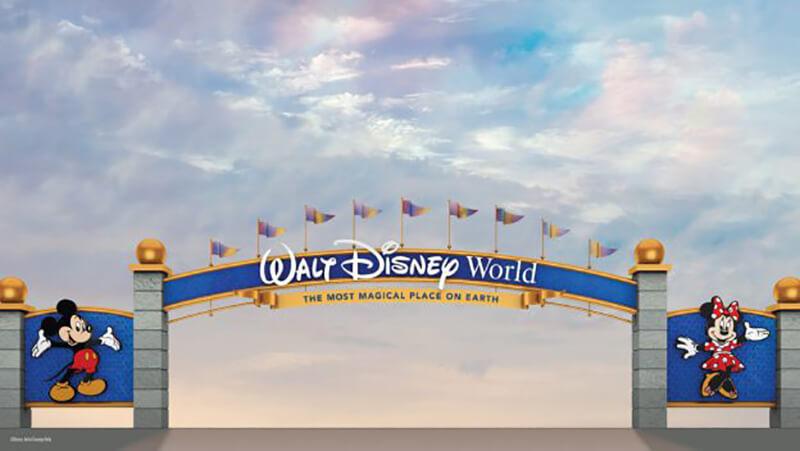 Walt Disney World Entrances Are Getting a Royal Makeover