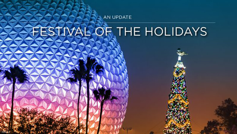 Here Comes Santa Claus! Additional Details Released for This Year's EPCOT Festival of the Holidays