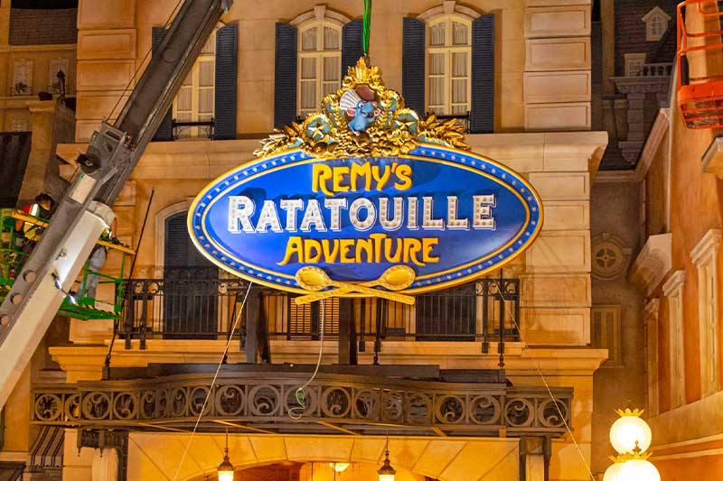 Your Guide to Virtual Queues at Walt Disney World — Including the All-New Remy's Ratatouille Adventure Attraction