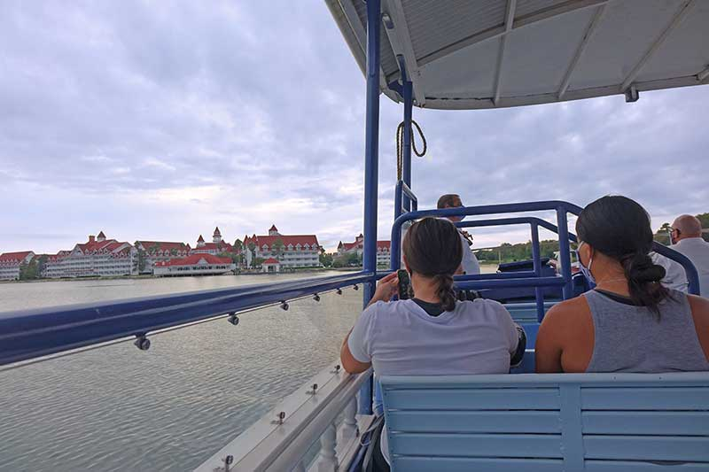 Disney Boat Transportation to Disney's Grand Floridian