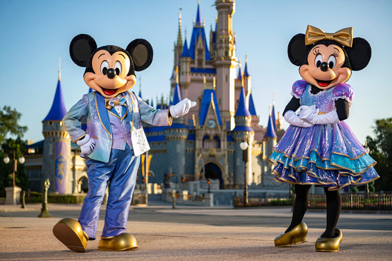 Disney World Gives a First Peek at Its Dazzling 50th Anniversary Plans