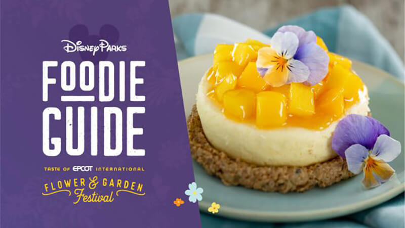 Menu and Concert Details Have Buzzed in for Taste of EPCOT Flower and Garden Festival