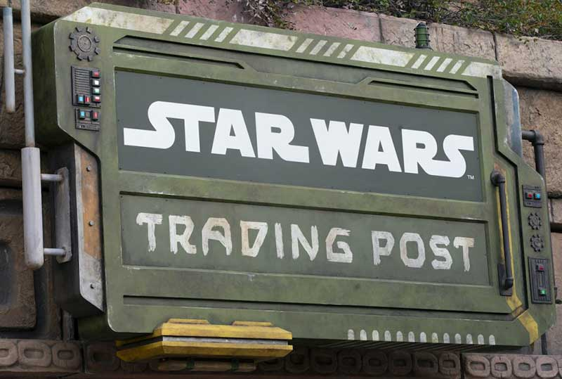 The Force Is Strong in the New Star Wars Trading Post at Downtown Disney