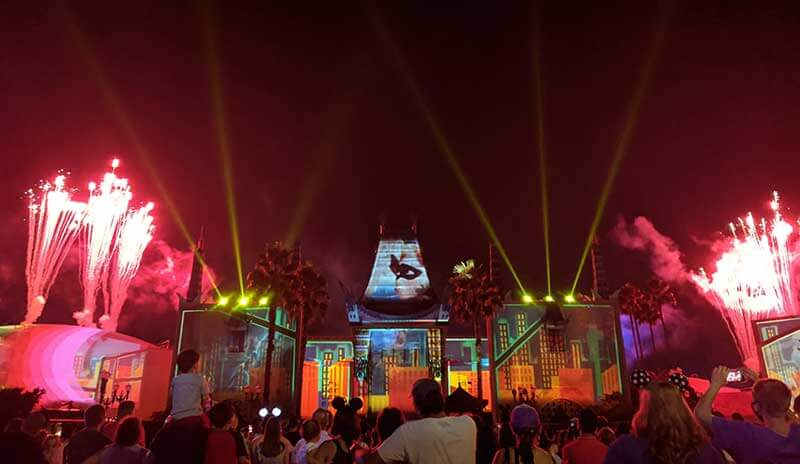 Tips for Viewing Disney's Hollywood Studios Fireworks –Wonderful World of Animation