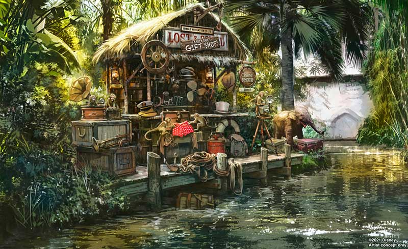 Disney Reveals New Jungle Cruise Final Scene with Tribute to Trader Sam