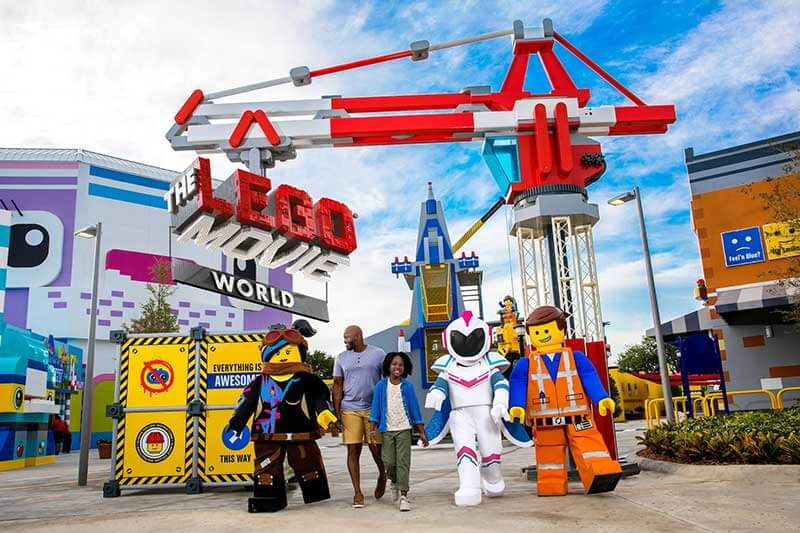 THE LEGO MOVIE WORLD Is Officially Open at LEGOLAND California Resort!