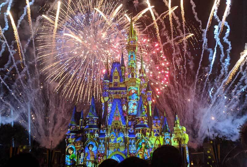The Very Best Places to Watch Magic Kingdom Fireworks
