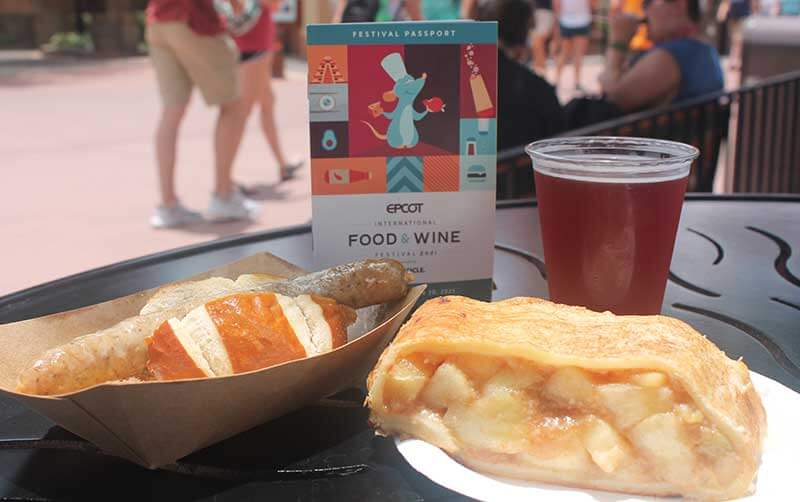 Wining and Dining Through EPCOT International Food and Wine Festival