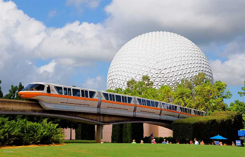 The EPCOT Monorail Returns July 18 — Just in Time for the First Weekend of the Food & Wine Festival!