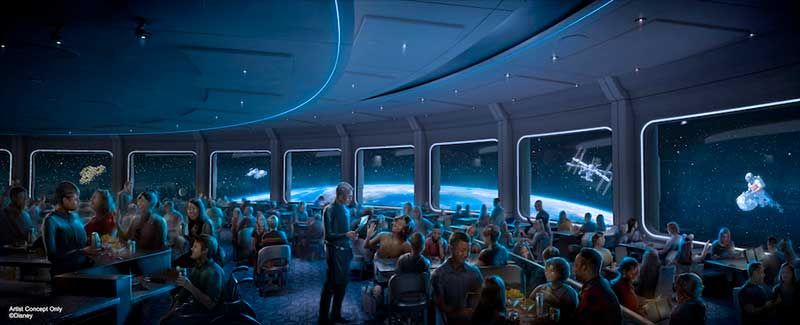 3 ... 2 ... 1! Space 220 Restaurant Is Ready for Takeoff on Sept. 20 at EPCOT