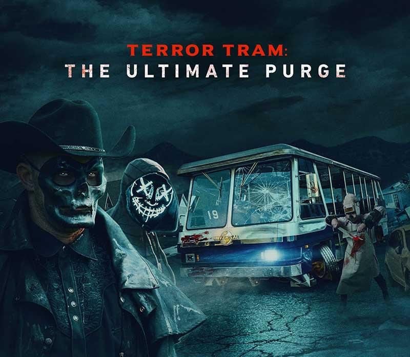 The Terror Tram Returns to Halloween Horror Nights at Universal Studios Hollywood!