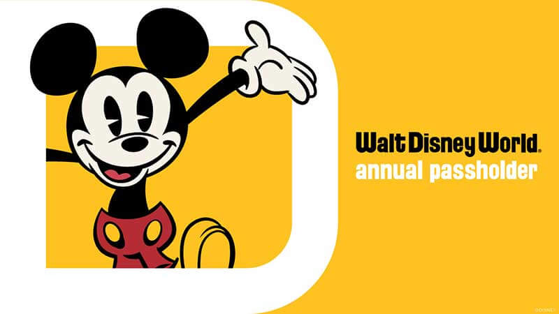 All About Disney World Annual Passes
