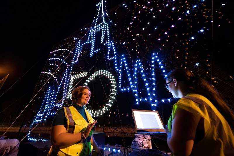 Disney World's Electrical Water Pageant Joins 50th-Anniversary Fun with New Celebratory Scenes