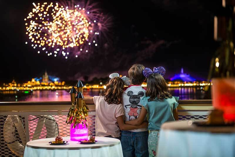 Fireworks Dessert Parties and Dining Packages Return in Time for Disney World's 50th Anniversary