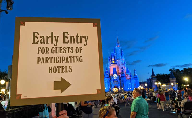 Everything You Need to Know About Early Theme Park Entry at Walt Disney World
