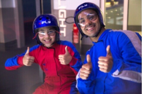 iFLY Hollywood: Two Flight Indoor Skydiving Experience