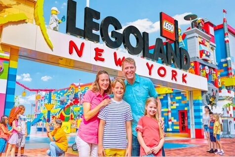 1-Day LEGOLAND New York Ticket