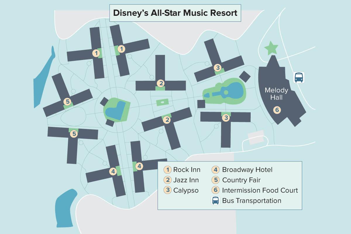 Disney's All-Star Music Resort   Walt Disney World