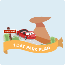 Disney California Adventure Park 1-Day Plan
