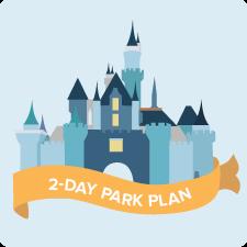 Disneyland Park 2-Day Plan