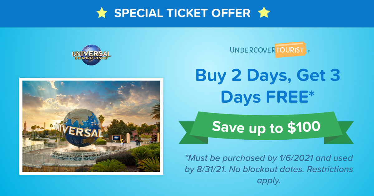 Universal Studios Florida Discount Tickets Undercover Tourist