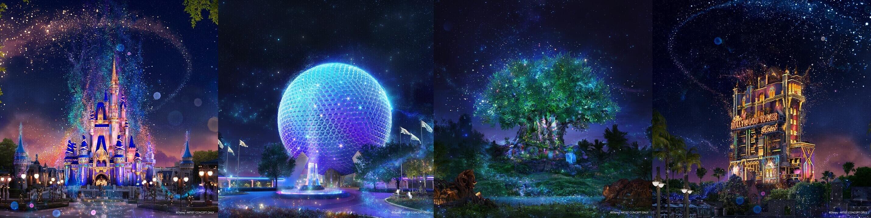 Walt Disney World Theme Park Images