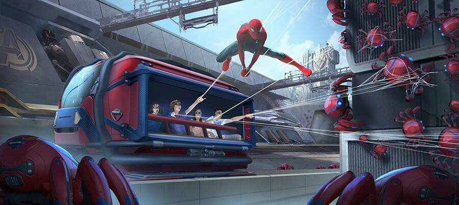 Web Slingshot Hero Vehicle