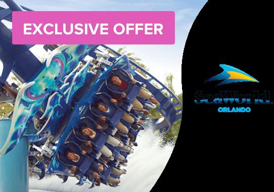 Exclusive offer Seaworld Orlando